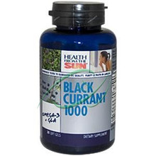Black Currant 1000 30 Soft Gels From Health From The Sun