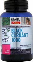 Black Currant Oil 60 Softgels 1000mg From Health From The Sun