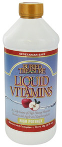 High Potency Liquid Vitamins 16 oz. From Buried Treasure
