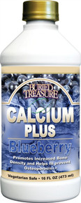 Calcium Plus Blueberry 16 fl oz From Buried Treasure