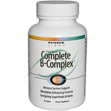 Complete B-Complex 90 Tablets From Rainbow Light