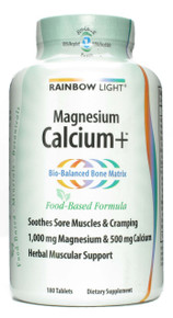 Calcium Plus,180 Tablets From Rainbow Light