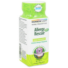 Allergy Rescue 60 Tablets From Rainbow Light