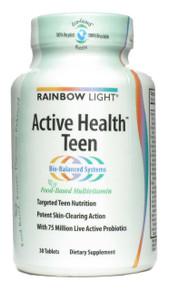Active Health Teen Multivitamin 30 tabs Rainbow Light