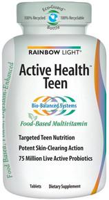 Active Health Teen Multivitamin 90 Tablets From Rainbow Light