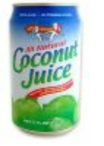 Coconut Juice, 24 of  10 OZ, Amy & Brian