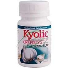 Kyolic Aged Garlic Extract One Per Day 1000 mg 30 Caplets From Wakunaga Kyolic