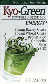 Kyo-Green Superfoods Drink Powder 2.8 oz Wakunaga Kyolic
