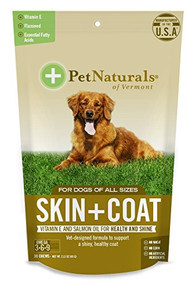 Skin + Coat For Dogs 30 CHEW By Pet Naturals Of Vermont