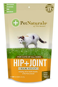 Hip + Joint For Cats 30 CHEW By Pet Naturals Of Vermont
