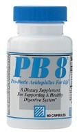 PB-8 Acidophilus 60 capsules From Nutrition Now