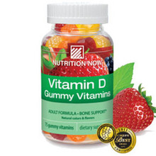 Adult Vitamin D Gummy Vitamins 75 Chews Nutrition Now