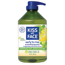 Bath & Body Wash Early to Rise 32 OZ By Kiss My Face