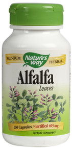 Alfalfa Leaves 405 mg 100 Capsules From Nature's Way