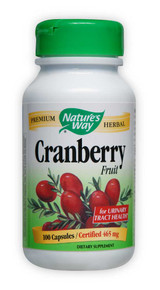 Cranberry Fruit 100 caps from Nature's Way
