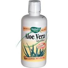 Aloe Vera Gel & Juice 33.8 oz (1 Liter) From Nature's Way