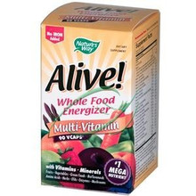 Alive Multi-Vitamin No Iron Added 90 Vcaps From Nature's Way