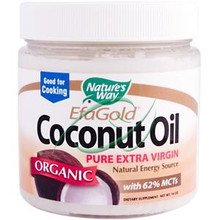 Efa Gold Coconut Oil Organic 16 oz From Nature's Way