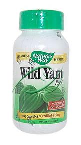 Wild Yam Root 100 Capsules From Nature's Way