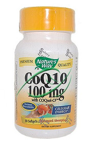 CoQ10 with CoQsol-CF 30 Softgels 100 mg From Nature's Way