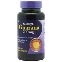 Guarana 200 mg 90 Capsules From Natrol