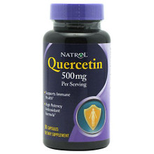 Quercetin with Vitamin C and Bioflavonoids 50 Capsules 250 mg From Natrol