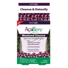 AcaiBerry Weekend Cleanse 1 kit From Natrol
