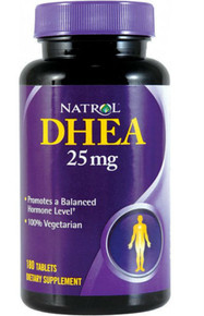 DHEA 25mg Value Size 180 TABLET By Natrol