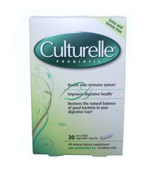 Culturelle with Lactobacillus GG 30 Capsules From Amerifit Nutrition