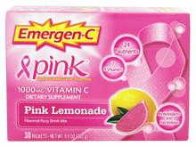 Emer'gen-C Pink Lemonade 30 CT By Alacer