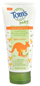 Baby Moisturizing Lotion Lightly Scented 6 OZ From TOM'S OF MAINE