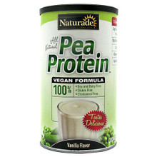 All Natural Pea Protein Vanilla-Single Serving Packets-1.3oz 1 Packets  From Naturade