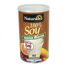 100% Soy Protein Booster Natural Flavor 14.8 oz. From Naturade
