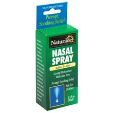 Nasal Spray Saline & Aloe 1.5 oz. From Naturade