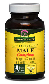 Male Complete 90 Liquid Capsules Nature's Answer