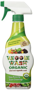 Organic Veggie Wash w/Trigger Sprayer 16 OZ By Veggie Wash