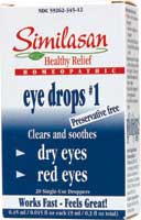 Monodose Eyedrops #1 Red Eyes 20 Dose Similasan