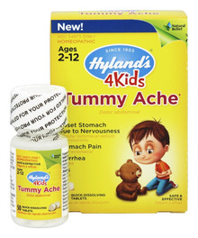 4 Kids Tummy Ache 50 TAB By Hylands