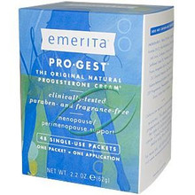 Pro-Gest Menopause/Perimenopause Support 48 Single-Use Packets 2.2 oz (62 g) Each From Emerita