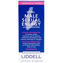 Vital Male Sexual Energy with Testosterone 1 oz. From Liddell