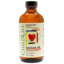 Cod Liver Oil Strawberry Flavor 8 fl oz From Childlife