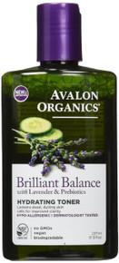 Brilliant Balance Hydrating Toner 8 OZ By Avalon Organic Botanicals