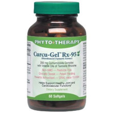 Curcu-Gel Rx 95 60 Softgels From Phyto Therapy