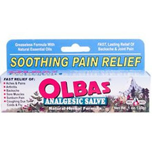 Analgesic Salve Natural Herbal Formula 1 oz 30 g From Olbas Therapeutic