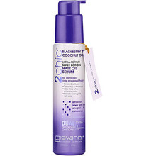 2chic Ultra Repair Super Potion Hair Oil Serum with Blackberry & Coconut Oil 2.75 OZ From GIOVANNI COSMETICS