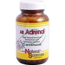 All Adrenal 60 Capsules From Natural Sources