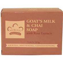 Bar Soap Goat's Milk & Chai 5 oz From Nubian Heritage