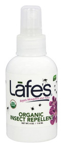 Organic Insect Repellent 4 OZ By Lafe'S Natural Bodycare
