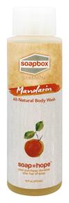 All Natural Body Wash Mandarin 16 OZ By Soapbox