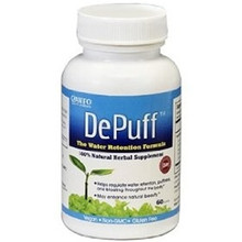DePuff Water Retention Formula 60 Tablets Canfo Natural Products